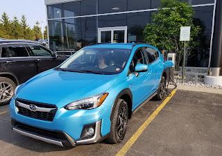 Charging 2019 Subaru Crosstrek Hybrid