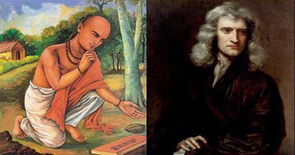 Bhaskaracharya, not Newton, Discovered Gravitation; Clue of Gravity in 6000 BC 'Prashnopanishad':