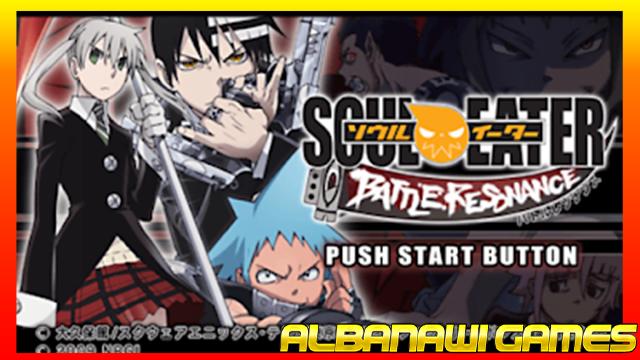 تحميل لعبة Soul Eater Battle Resonance لاجهزة psp ومحاكي ppssppمن الميديا فاير