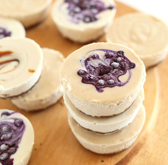 7-INGREDIENT VEGAN CHEESECAKES #desserts #vegandesserts