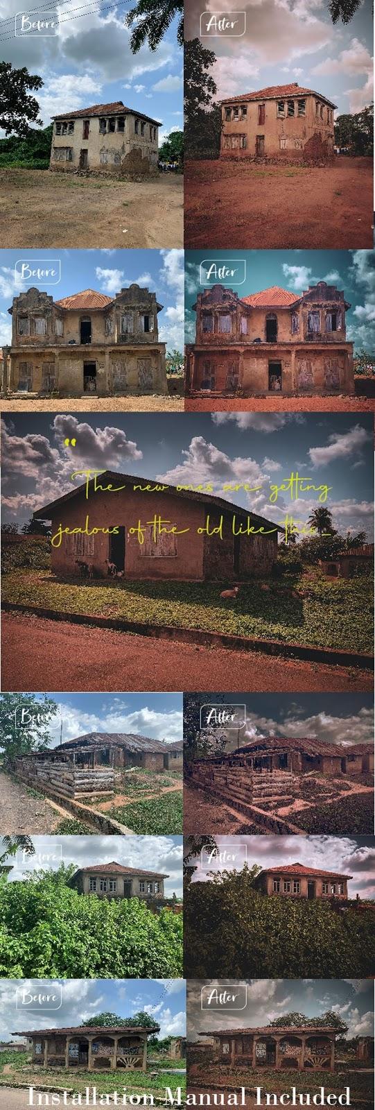 DYNAPIX Vintage Architecture Lightroom Mobile and Desktop Preset Pack 26962057