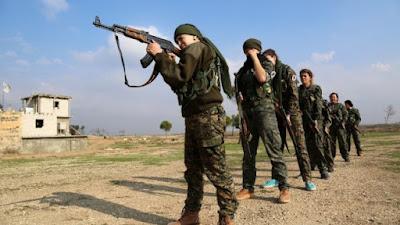 Χριστιανές παλεύουν κατά  της τρομοκρατικής οργάνωσης Daesh