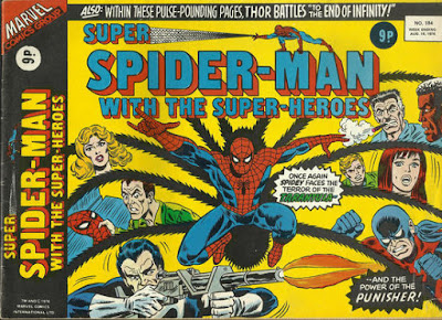 Super Spider-Man with the Super-Heroes #184