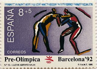 PRE-OLÍMPICA BARCELONA 92. LUCHA
