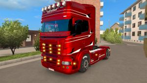Red Passion Limited Edition skin for Scania RJL