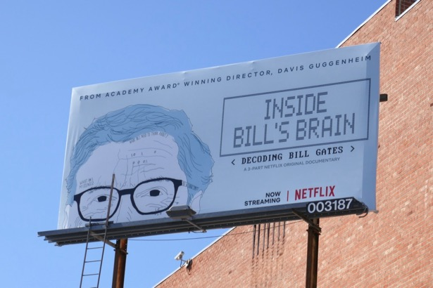 Inside Bill Gates Brain billboard