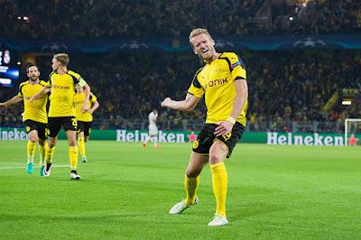 Andre Schuerrle of Borussia Dortmund