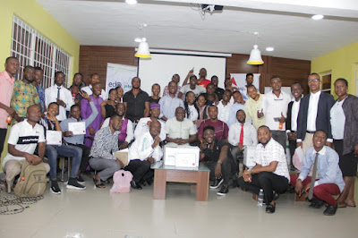 89 Edo Youths train by Edojobs, Slot Foundation Training