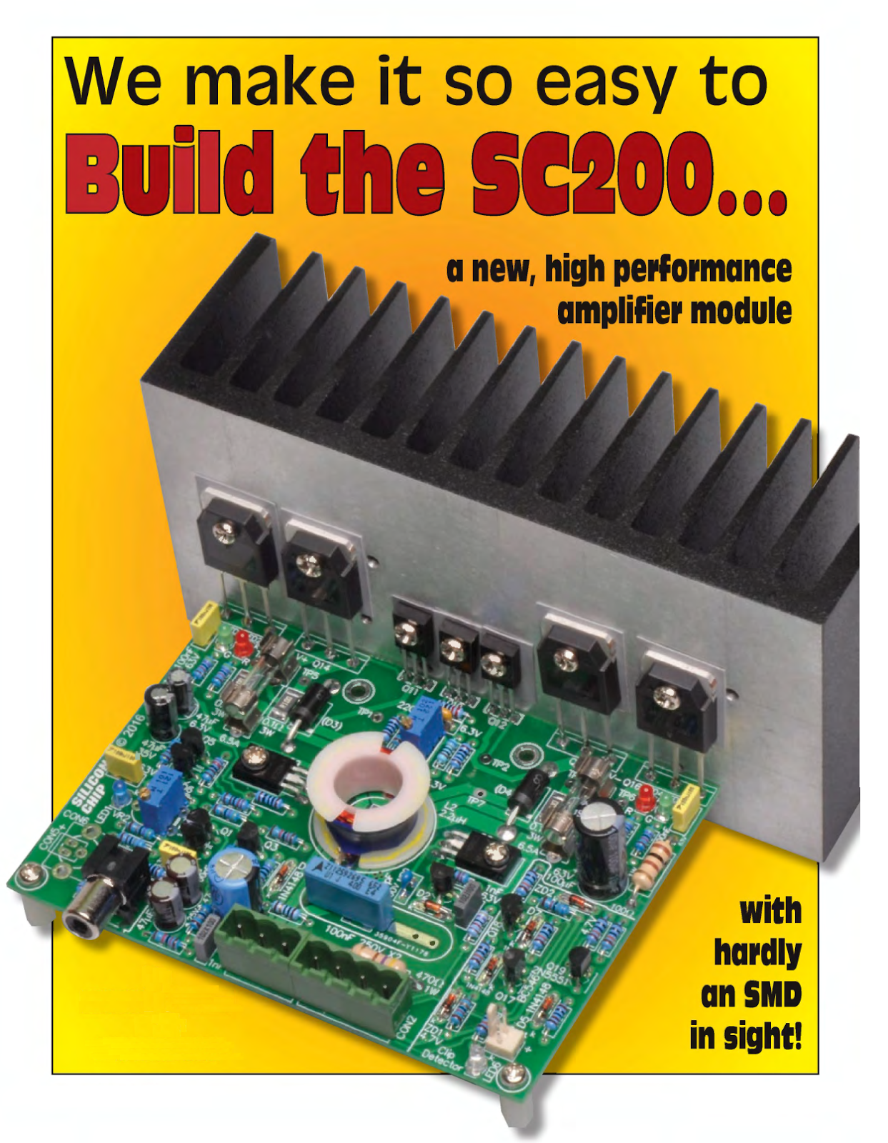 Sc200 Audio Amplifier Complete Project 200w Basics A Modern Stereo System Has Two This Completely New Circuit Incorporates Most Of The Features Our Ultra Lo Mk4 Module But Uses Easy To Solder Through Hole