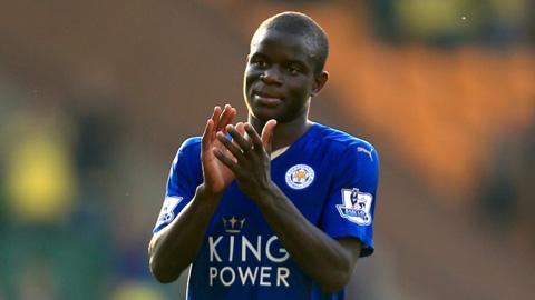 N'Golo Kante (Tiền vệ đánh chặn Leicester City)