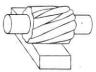 pisai frais mantel atau pisau frais datar (plian milling cutter)