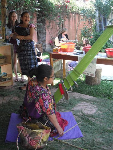 Mayan Traditions NGO Guatemala backstrap weaving