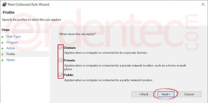 Block an Program to Internet Access