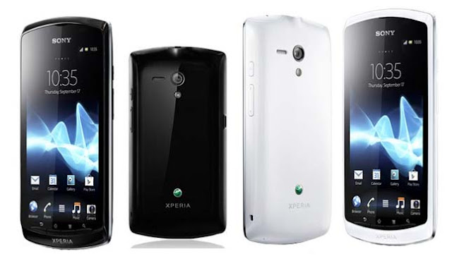 Sony Xperia neo L Specifications - LAUNCH Announced 2012, March DISPLAY Type LED-backlit LCD, capacitive touchscreen, 16M colors Size 4.0 inches (~59.6% screen-to-body ratio) Resolution 480 x 854 pixels (~245 ppi pixel density) Multitouch Yes, up to 4 fingers BODY Dimensions 121 x 61.1 x 12.2 mm (4.76 x 2.41 x 0.48 in) Weight 131.5 g (4.62 oz) SIM Mini-SIM PLATFORM OS Android OS, v4.0.4 (Ice Cream Sandwich) CPU 1.0 GHz Scorpion Chipset Qualcomm MSM8255 Snapdragon S2 GPU Adreno 205 MEMORY Card slot microSD, up to 32 GB (dedicated slot) Internal 1 GB (300 MB user available), 512 MB RAM CAMERA Primary 5 MP, autofocus, LED flash Secondary VGA Features Geo-tagging, touch focus, video calling Video 720p@30fps NETWORK Technology GSM / HSPA 2G bands GSM 850 / 900 / 1800 / 1900 3G bands HSDPA 900 / 2100 Speed HSPA 7.2/5.76 Mbps GPRS Yes EDGE Yes COMMS WLAN Wi-Fi 802.11 b/g/n, DLNA, hotspot NFC Yes GPS Yes, with A-GPS USB microUSB v2.0 Radio No Bluetooth  FEATURES Sensors Sensors Accelerometer, proximity, compass Messaging SMS (threaded view), MMS, Email, IM, Push Email Browser HTML5, Adobe Flash Java No SOUND Alert types Vibration; MP3, WAV ringtones Loudspeaker Yes 3.5mm jack Yes BATTERY  Removable Li-Po 1500 mAh battery Stand-by Up to 575 h (2G) / Up to 410 h (3G) Talk time Up to 7 h 53 min (2G) / Up to 7 h 9 min (3G) Music play Up to 37 h MISC Colors Colors Black, White SAR US 0.84 W/kg (head)     0.46 W/kg (body)   SAR EU 1.01 W/kg (head)      - Timescape UI - MP4/H.264/WMV player - MP3/WMA/WAV/eAAC+ player - TrackID music recognition - Organizer - Document viewer - Voice memo/dial/commands - Predictive text input