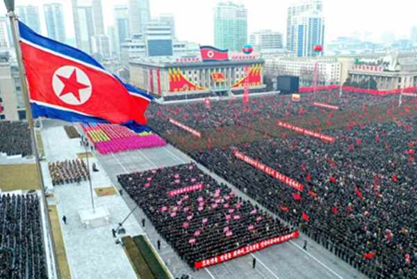 (2) Pyongyang City Army-People Rally