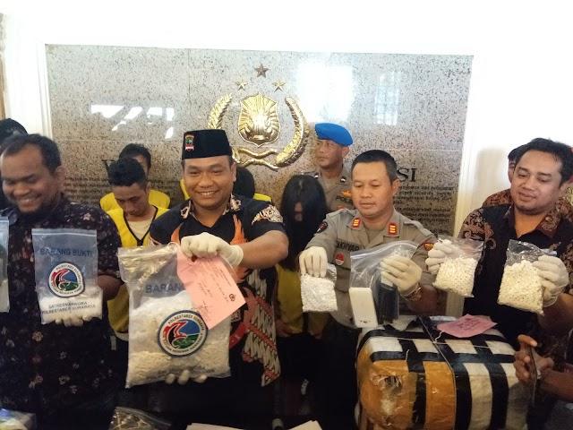 Jaringan Pengedar Narkotika Dari Lapas Diungkap Polrestabes Surabaya