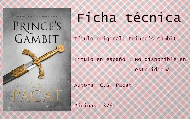 "Reseña ""Prince's Gambit"""
