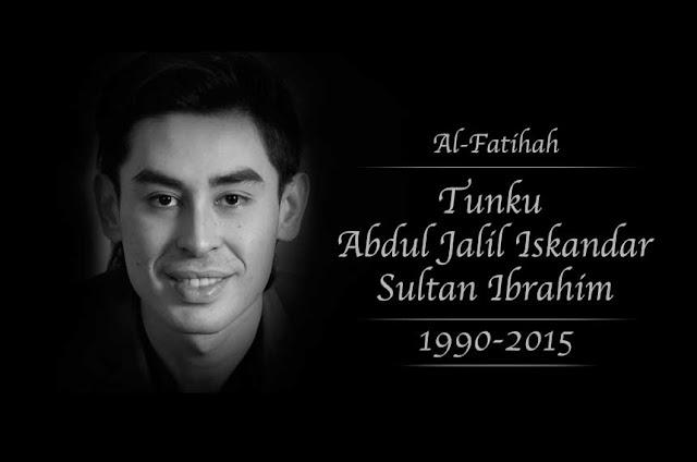 'Cebisan Cahaya' karya terakhir Almarhum Tunku Jalil