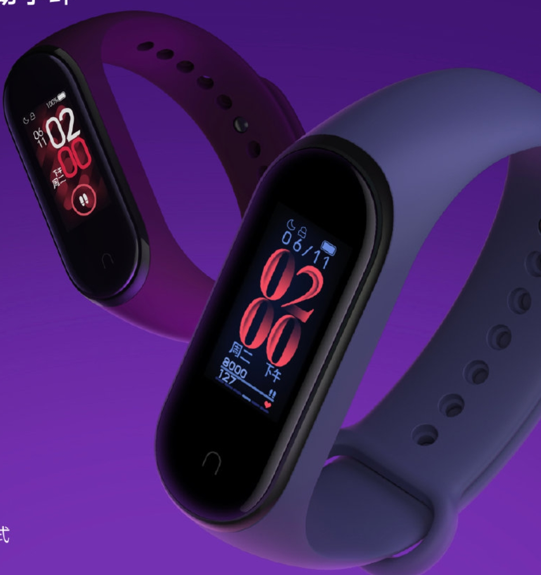 Mi Band 4 fitness band launched