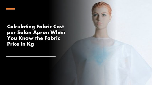 Cost of fabric per piece apron