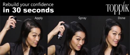 toppik, toppik malaysia, toppik hair building fibers, hair thinning