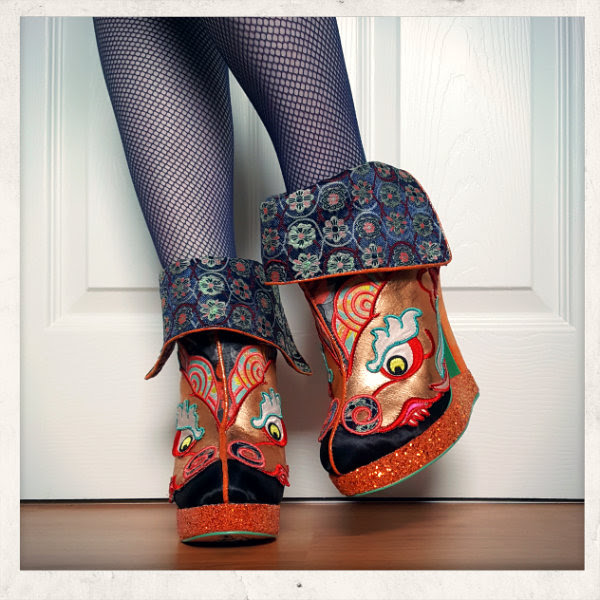 front view wearing irregular choice tatsu aw17 ankle boots