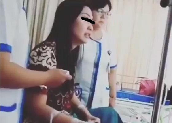 Video Viral: Pasien Cantik Menangis Karena Dilecehkan Perawat Pria