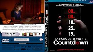 CARATULA LA HORA DE TU MUERTE-COUNTDOWN 2019[COVER BLU-RAY]