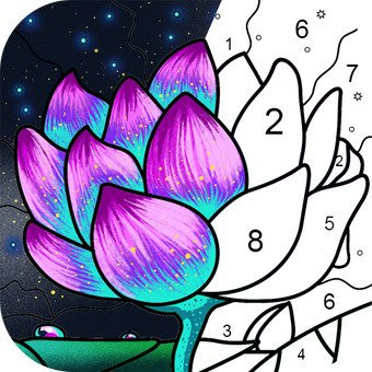Paint By Number Coloring Book & Color by Number (MOD, Free Shopping)