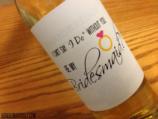 伴娘 - 葡萄酒 - 可自由打印