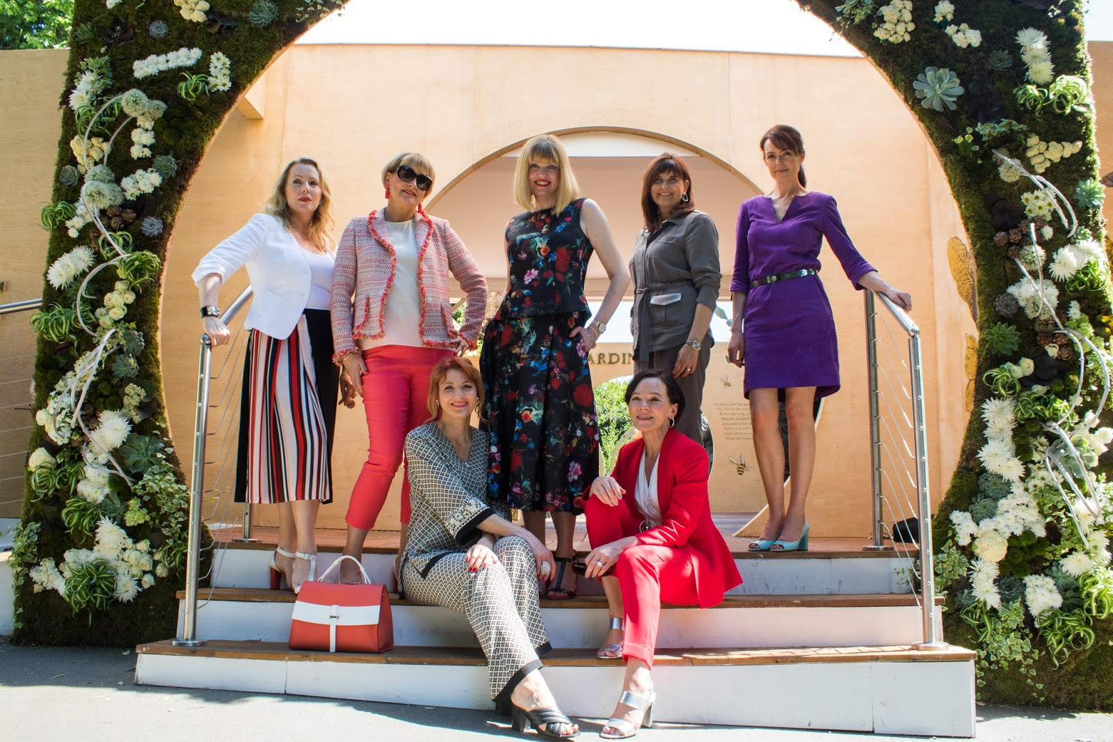 over-40-women-outfits-Chelsea-Flower-Show