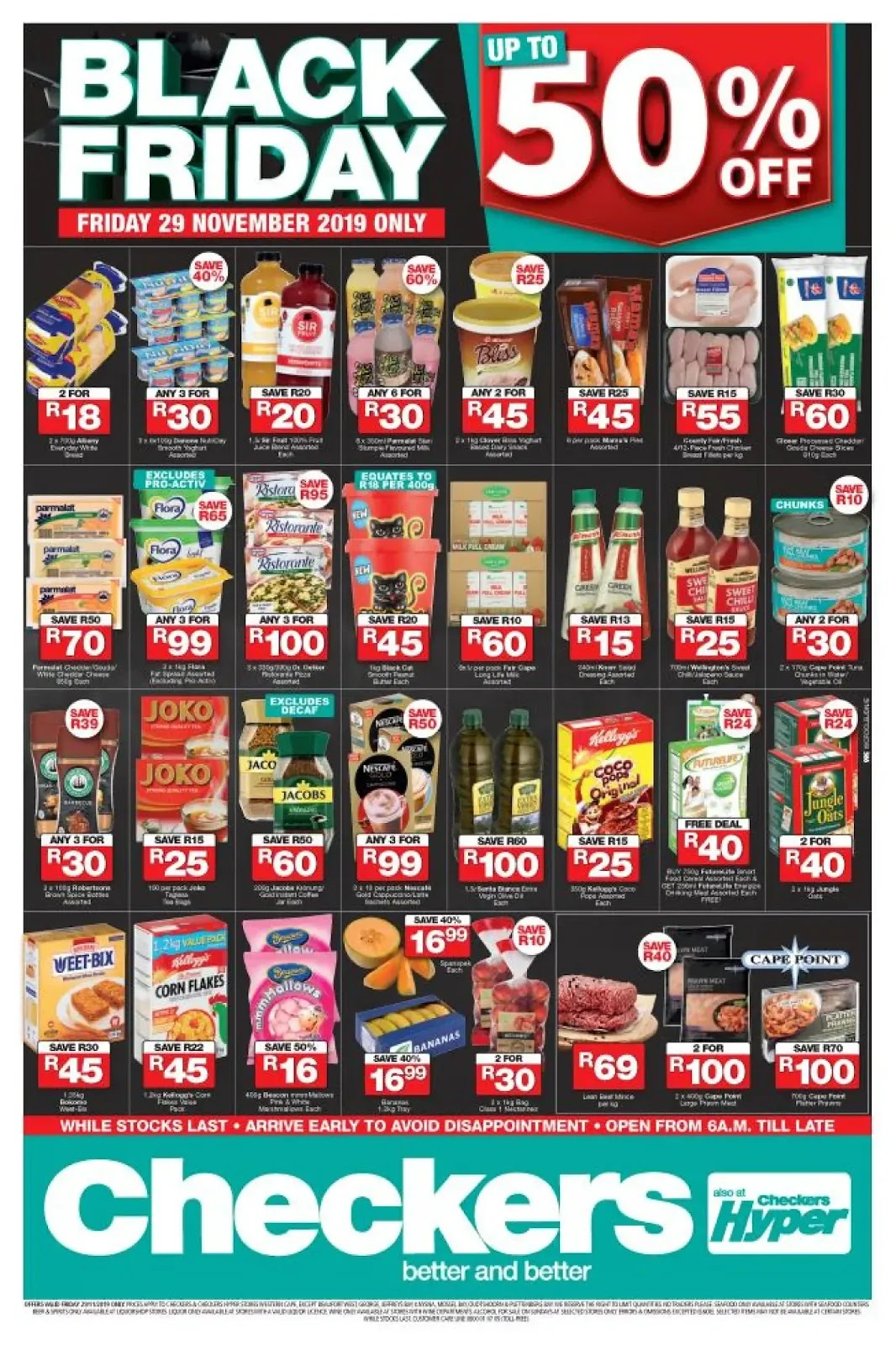 Updated 2019 Checkers Black Friday Deals Western Cape