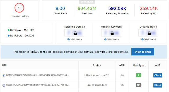 Small SEO Tools- Backlink Checker   Check website backlink data