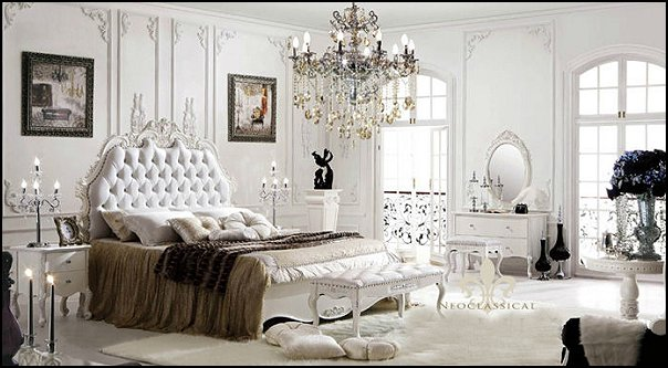 Superieur Luxury Bedroom Designs   Marie Antoinette Style Theme Decorating Ideas    French Provincial Furniture Baroque Style