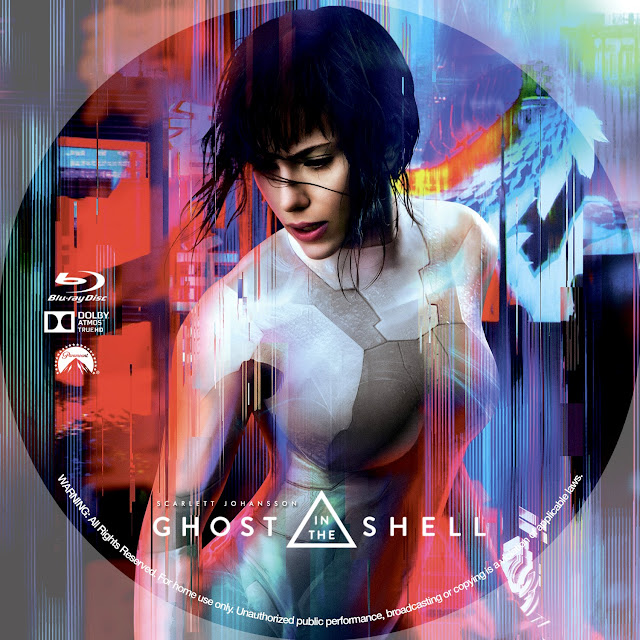 Ghost In The Shell Bluray Label