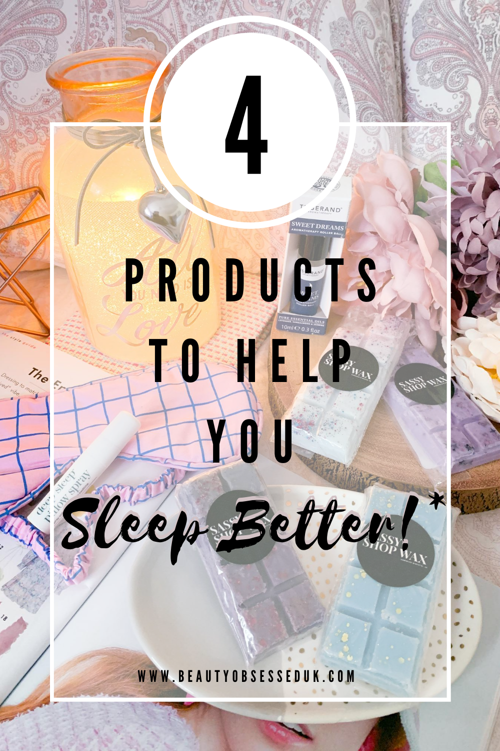Sleep Better Pinterest