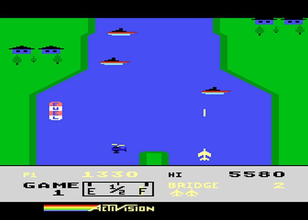 River Raid Atari 2600 Game