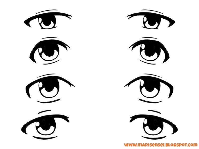 yeux mangas de vieux