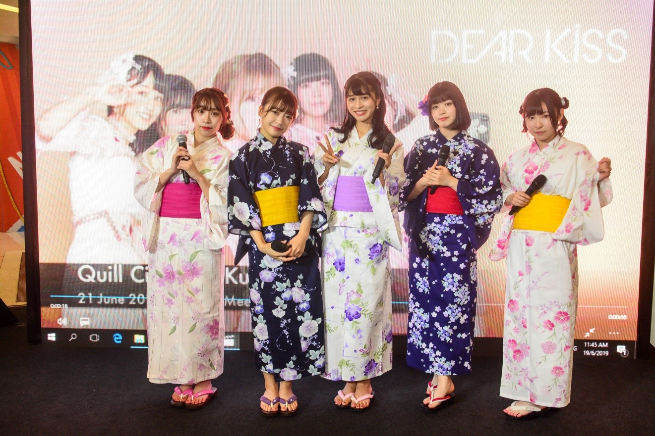 Meet And Greet With Dear Kiss Japanese Girl's Dance & Vocal Group in Malaysia