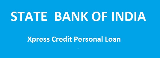 sbi xpress credit personal loan emi calculator may 2018