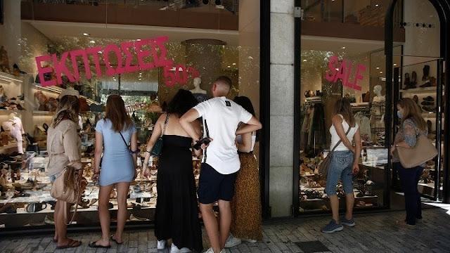 Προαιρετικά ανοιχτά τα καταστήματα σήμερα πρώτη Κυριακή των θερινών εκπτώσεων