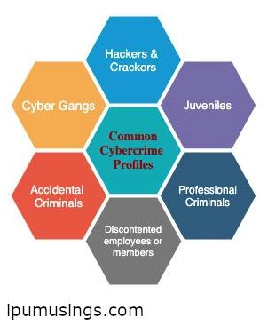 PROFILING CYBERCRIMINALS (#cyberlaws)(#cybercrime)(#legal)(#llb)(#ipumusings)