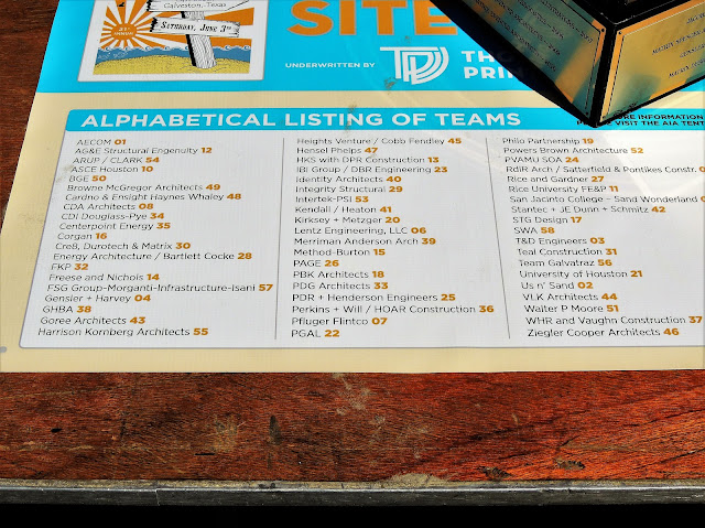 2017 AIA Sandcastle Competition - List of Teams