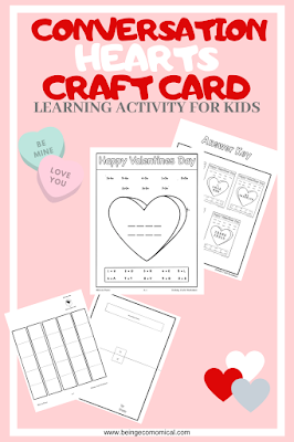 Valentine's Day Learning Activity And Craft For Kids