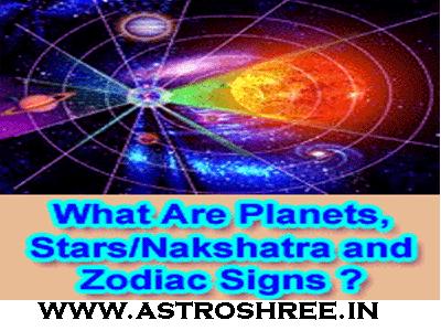 planets nakshatra and zodiacs