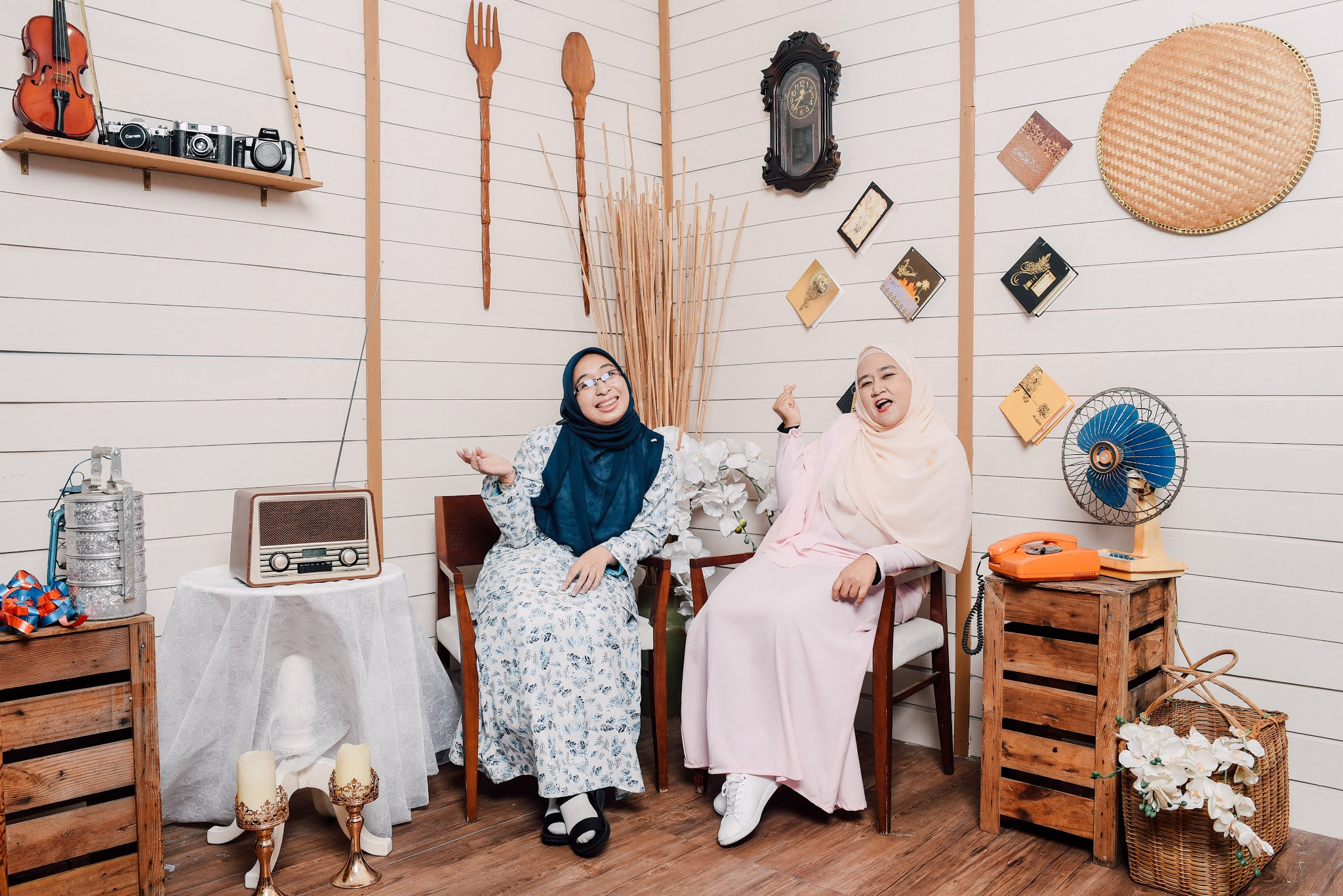 Photoshoot Raya dekat The Empire Studio - byfarahh.com