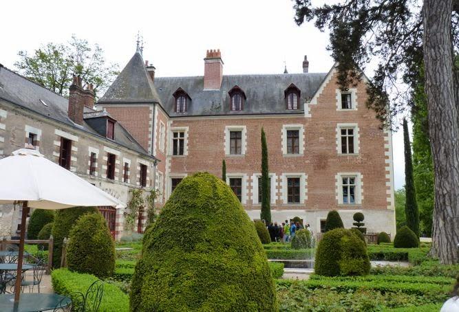 Castillo del Clos-Lucé en Amboise.