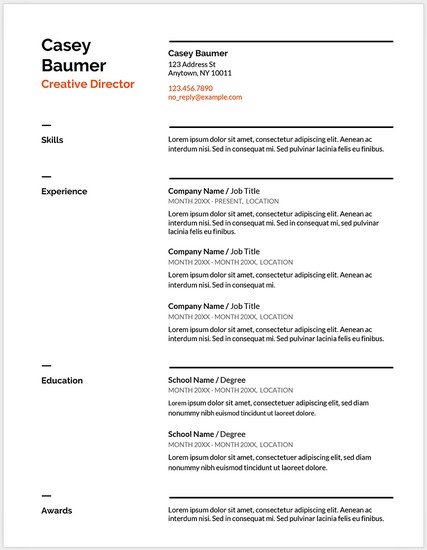Template Riwayat Hidup Format Microsoft Office Word Versi 5