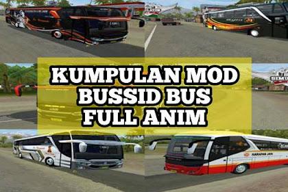 Kumpulan MOD BUSSID Bus Full Anim Update Terbaru V3.3.2 Part 1