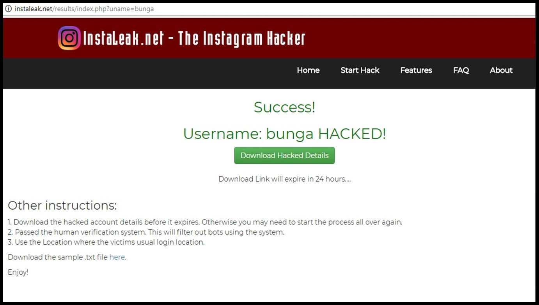 cara mengetahui password instagram dengan html